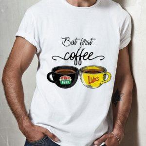 But First Coffee Central Perk Luke's shirt 3