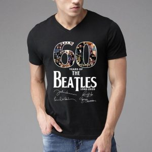 60 Years Of The Beatles 1960-2020 Signature shirt 3