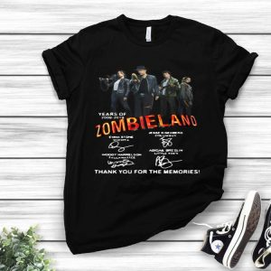 20 Years Of 2009-2019 Zombieland Signature shirt