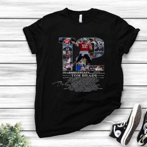 20th Anniversary Tom Brady New England Patriots 2020 shirt