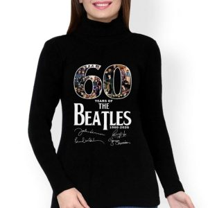 60 Years Of The Beatles 1960-2020 Signature shirt 2