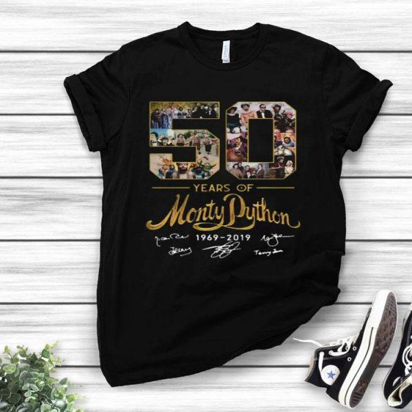 50 Years Of Monty Python 1969 2019 Signature shirt
