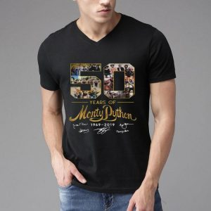 50 Years Of Monty Python 1969 2019 Signature shirt