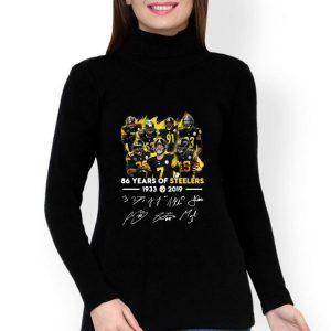68 Years Of Pittsburgh Steelers 1933-2019 Signature shirt
