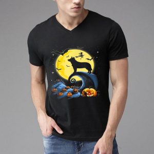 Australian Cattle Dog Moon Pumpkin Halloween Costume shirt