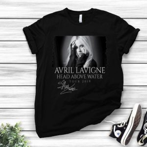 Avril Lavigne Head Above Water Tour 2019 Signature shirt