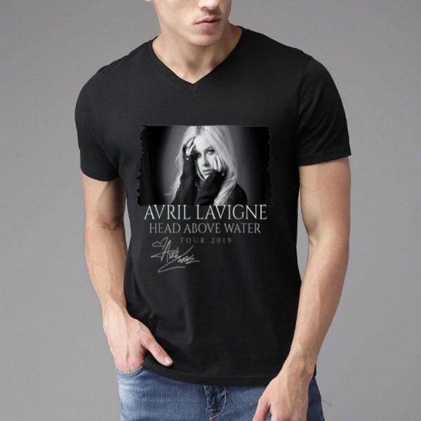 Avril Lavigne Head Above Water Tour 2019 Signature shirt
