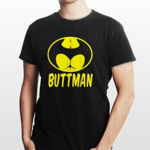 Awesome Buttman Batman Logo shirt