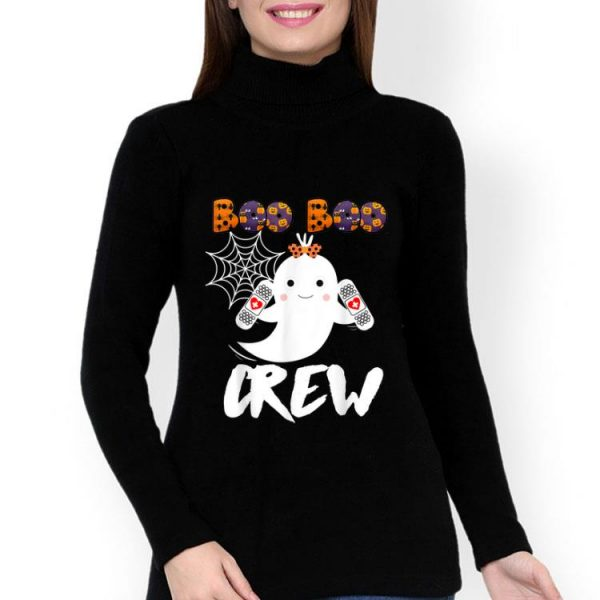 Boo Boo Crew Nurse Cute Halloween Costume shirt