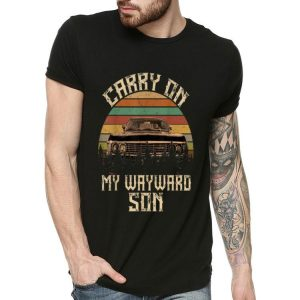 Carry On My Wayward Son Car Vintage shirt