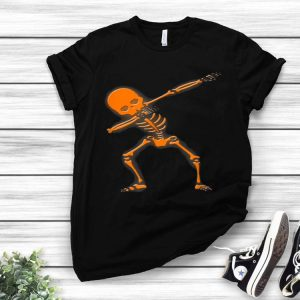 Dabbing Skeleton - Dab Human Skeleton Halloween shirt