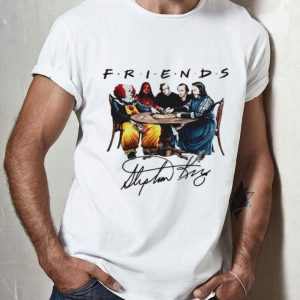 Friends Horror Movies - Stephen King Signature shirt