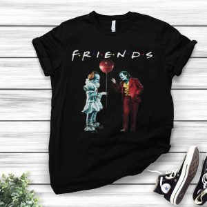 Friends Pennywise With Joker shirt
