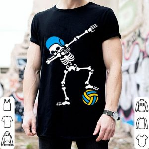 Funny Dab Dabbing Skeleton Water Polo Halloween Swim shirt