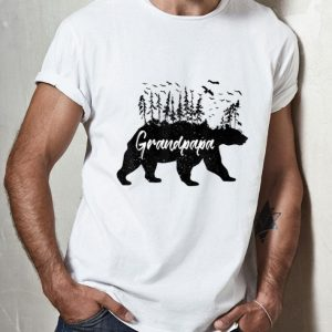 Grandpa Forest Bear Grandpapa Bear Camping Bear shirt