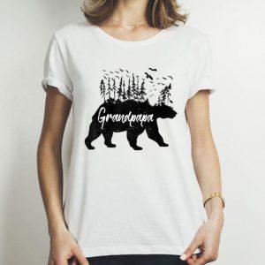 Grandpa Forest Bear Grandpapa Bear Camping Bear shirt