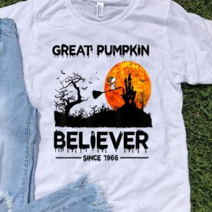 Great Pumpkin Believer Since 1966 Snoopy Witch shirt