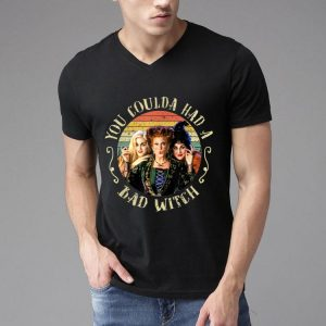 Halloween Hocus Pocus You Coulda Had A Bad Witch Vintage shirt