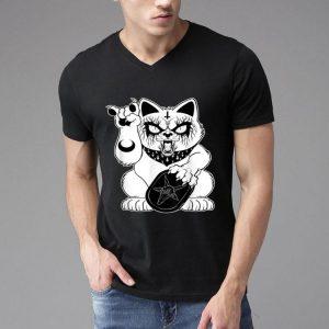 Heavy Metal Lucky Monster Cat - Cat Lover shirt