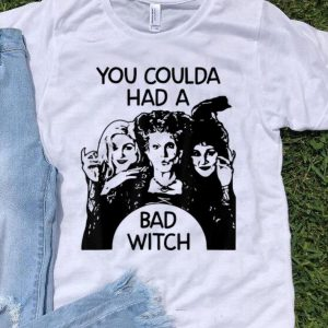 Hocus Pocus You Could Had A Bad Witch shirt