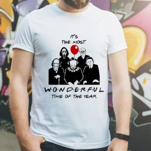 Horror Characters It's The Most Wonderful Time Of The Year shirt