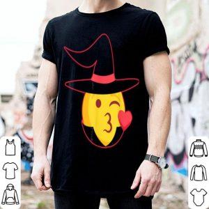 Hot Halloween Emoji Witch Costume shirt