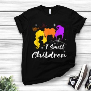 I Smell Children Halloween Costume Witches shirt