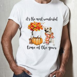 It's The Most Wonderful Time Of The Year Labrador Pumpkin shirt