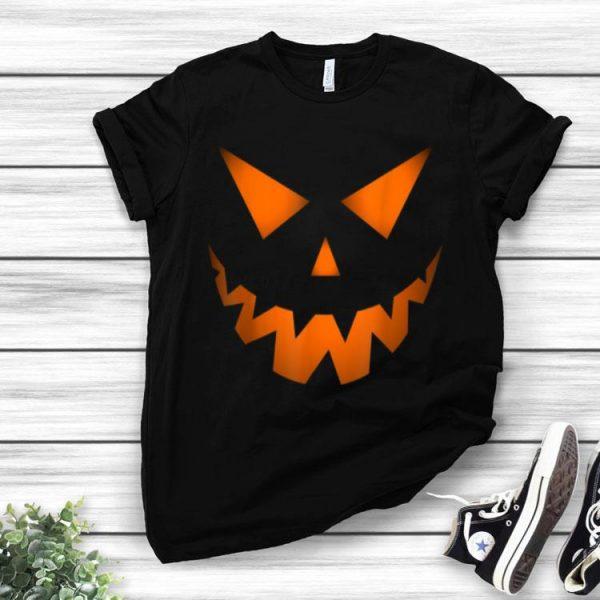 Jack O' Lantern Pumpkin Face Halloween Costume shirt