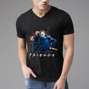 Jason Voorhees And Michael Myers Friends McDonald's Staff shirt