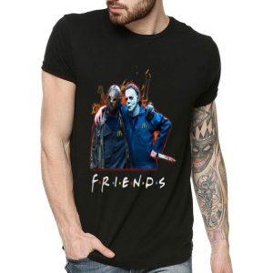Jason Voorhees And Michael Myers Friends McDonald's Staff shirt