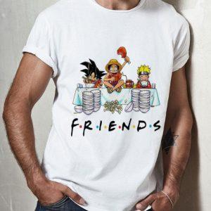 Luffy Naruto Songoku Friends shirt