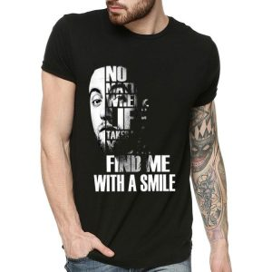 Miller No Matter Where Life Takes Me You'll Find Me With A Smile shirt