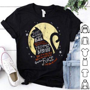 Official Thackery Binx Cat Halloween Black Cat Quote Spell shirt