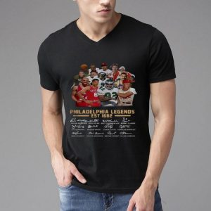 Philadelphia Legends Est 1682 Signature shirt