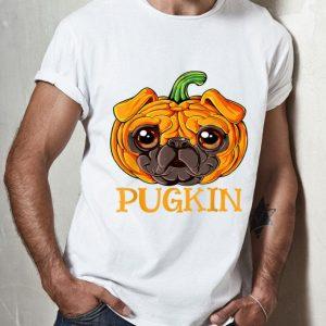 Pugkin Pug Pumpkin Halloween shirt