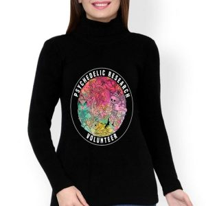 Shrooms Festival Psychedelic Research Volunteer shirt