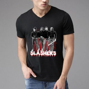 Slashers - Freddy Krueger Leatherface Michael Myers Jason Voorhees shirt
