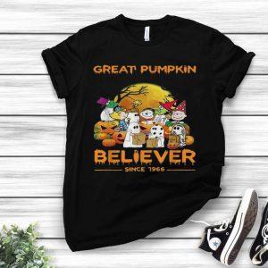 Snoopy Brown's Ghost Great Pumpkin Believer Since 1966 shirt