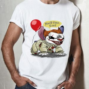 Stitch You'll Float Too Pennywise Halloween shirt