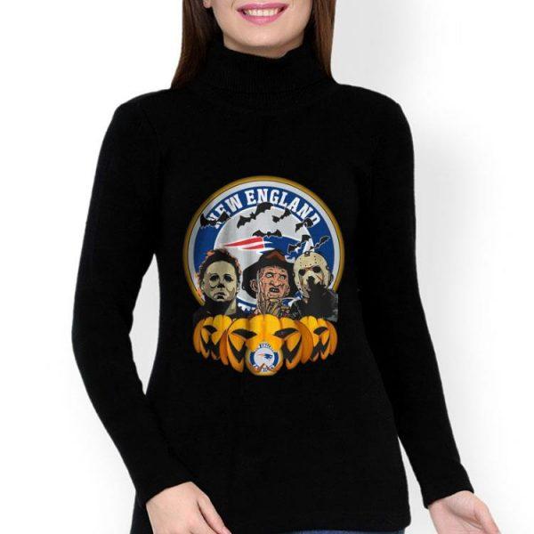 The Horror Trinity Pumpkin New England Patriots Halloween shirt