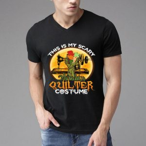 This Is My Scary Quilter Halloween Quilting shirt
