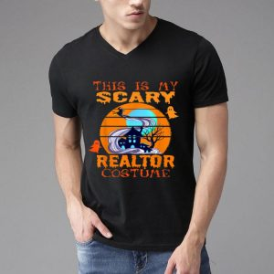 This Is My Scary Realtor Costume Halloween Vintage shirt