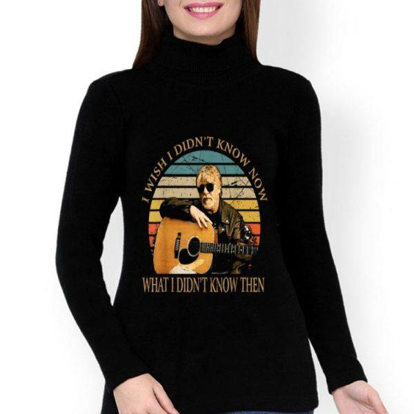 Vintage Bob Seger I Wish I Didn't Know Now shirt
