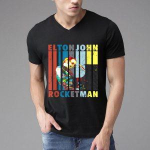 Vintage Elton John Rocketman Playing Piano shirt