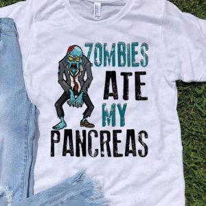 Zombies Ate My Pancreas Halloween Costume shirt