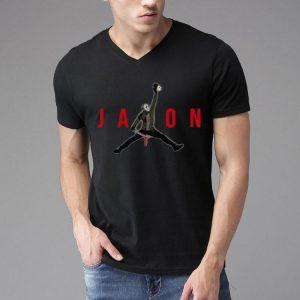 Jason Voorhees Holding Mama's Head Jordan Style shirt 3