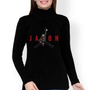 Jason Voorhees Holding Mama's Head Jordan Style shirt 2
