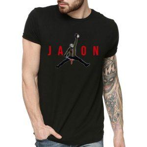 Jason Voorhees Holding Mama's Head Jordan Style shirt 1