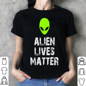 Alien Lives Matter Funny Halloween shirt